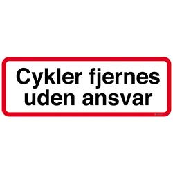 Cykler fjernes uden ansvar