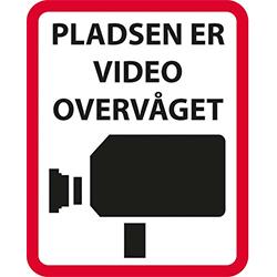 Pladsen er video overvåget
