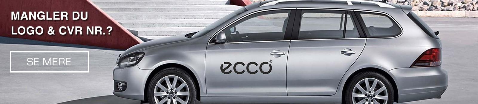 Logo på bil