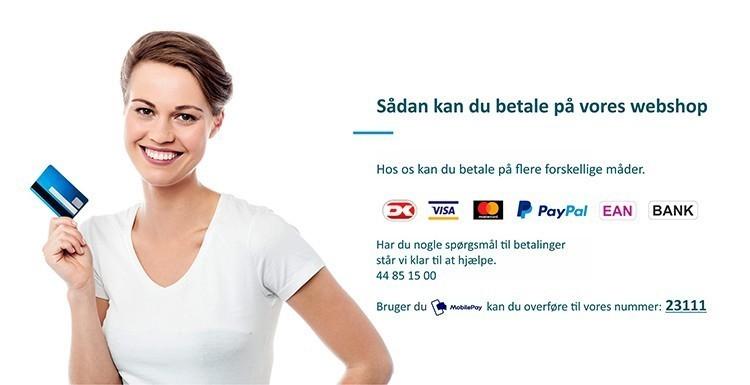 Betaling i webshop